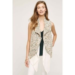 Anthropologie Knitted & Knotted Caprea Vest Medium